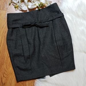 Club Monaco A line wool skirt